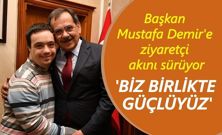 Başkan Mustafa Demir: Vatandaşımızın her zaman yanındayız