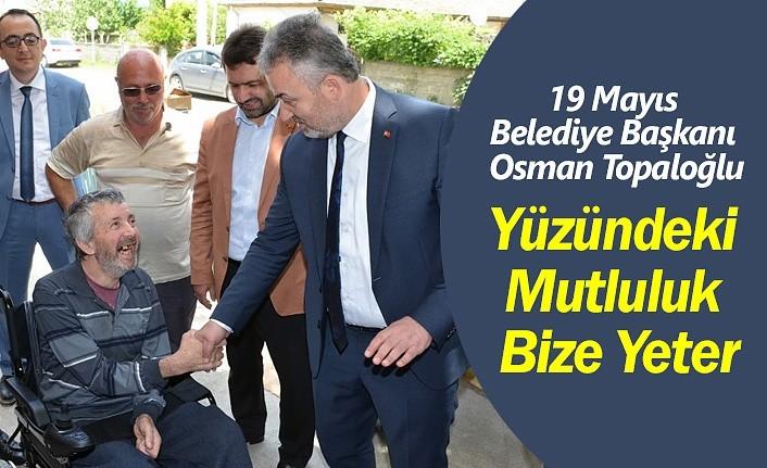 Başkan Toğaloğlu yüz güldürdü!