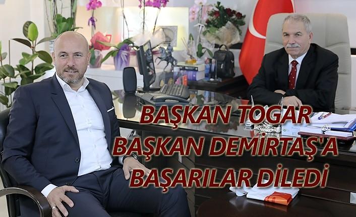 Başkan Togar'dan Başkan Demirtaş'a nezaket ziyareti