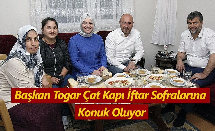 Başkan Togar Tekkeköylülerin iftar sofrasına misafir oluyor