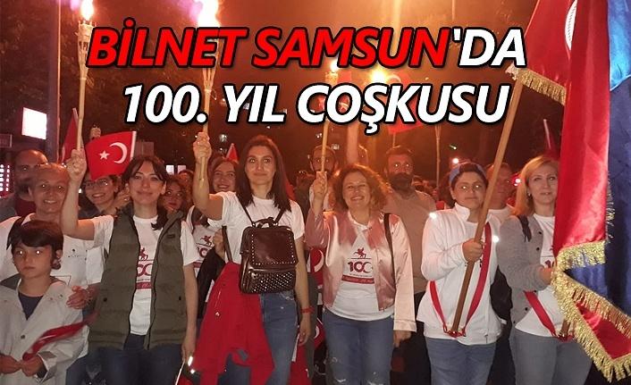 Bilnet Samsun'da 100. yıl coşkusu