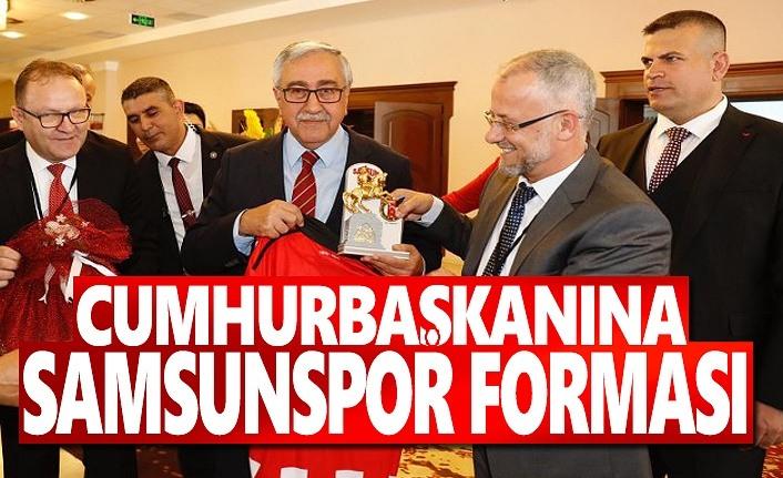 Cumhurbaşkanına Samsunspor forması
