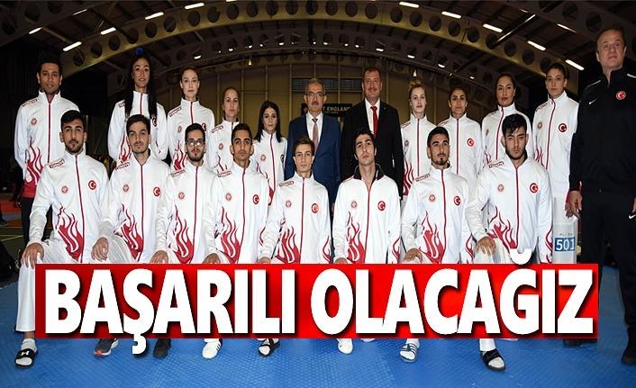Dünya Taekwondo Şampiyonasında Başarılı Olacağız