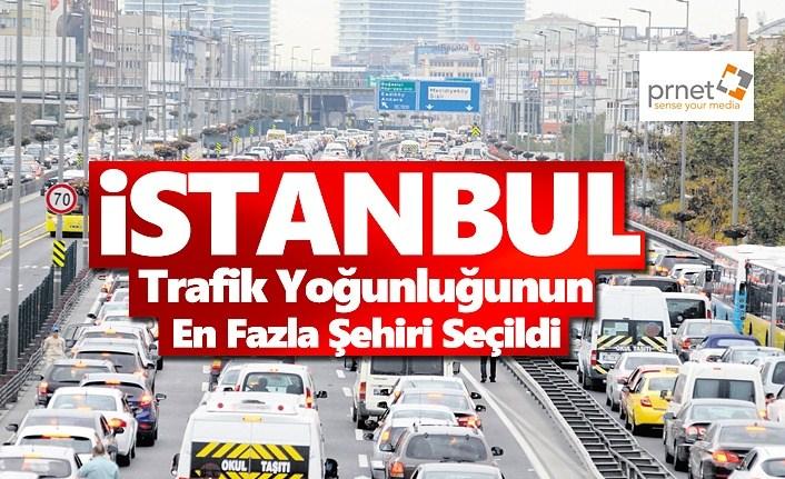 İstanbul Trafik Yoğunluğunun En Fazla Yaşandığı Şehir Oldu