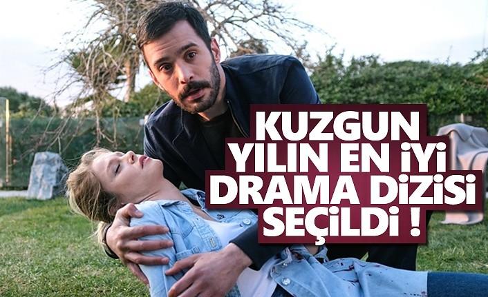 Kuzgun, Yılın En İyi Drama Dizisi Seçildi