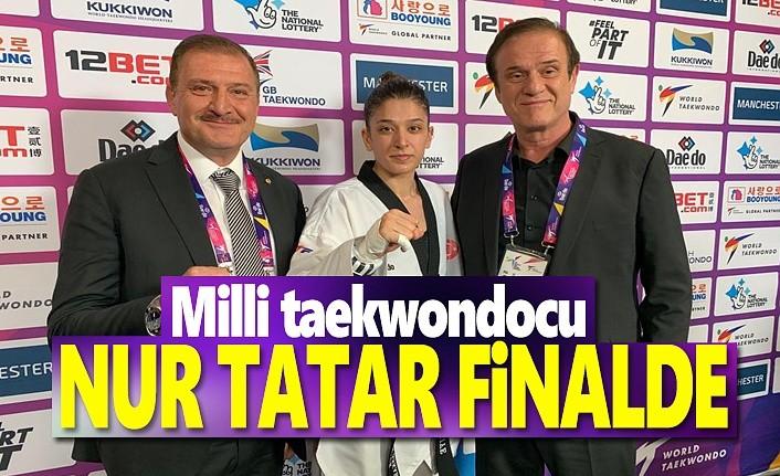Milli taekwondocu Nur Tatar Finalde