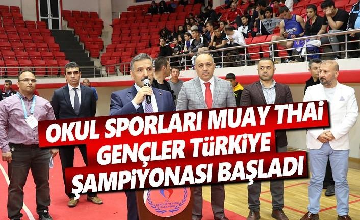Okul Sporları Gençler Türkiye Şampiyonası Başladı