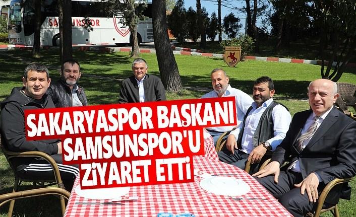 Sakaryaspor Başkanı Samsunspor'u Ziyaret Etti