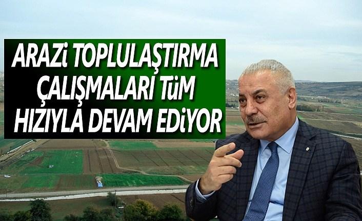 Samsun'da 14 000 Hektar Arazi Toplulaştırıldı