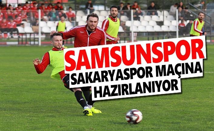 Samsunspor, Sakaryaspor Maçına Hazırlanıyor