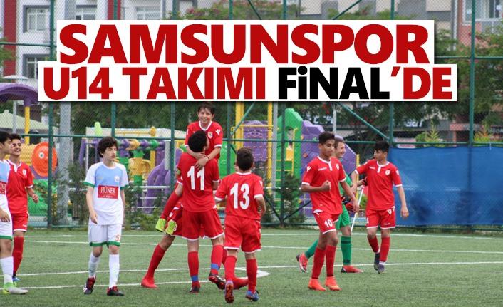 Samsunspor U14 Takımı Final'de