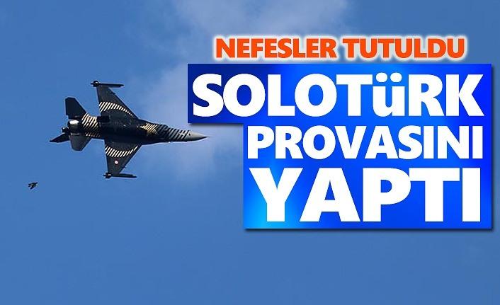 Solotürk'ün provası nefesleri kesti