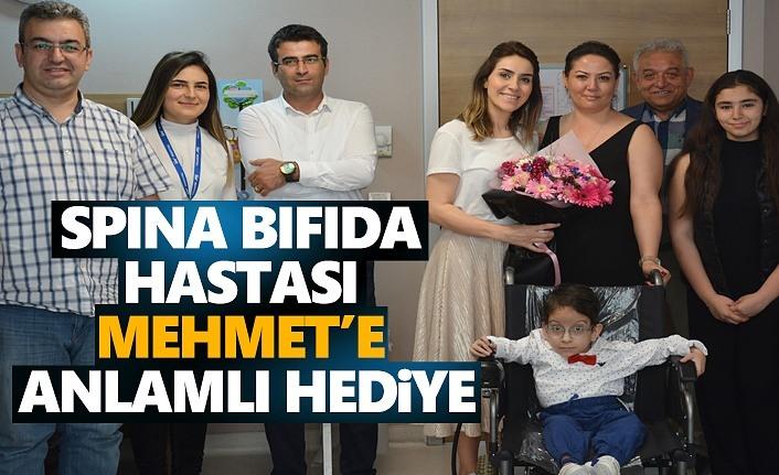 Spına Bıfıda Hastası Mehmet'e Anlamlı Hediye