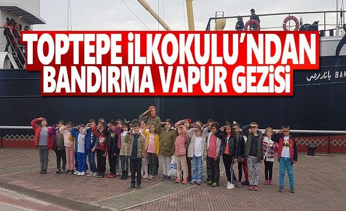 Toptepe İlkokulu'nun Bandırma Vapur Gezisi