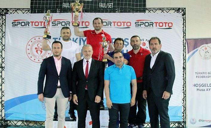 U23 Türkiye Greko - Romen Güreş Şampiyonası sona erdi