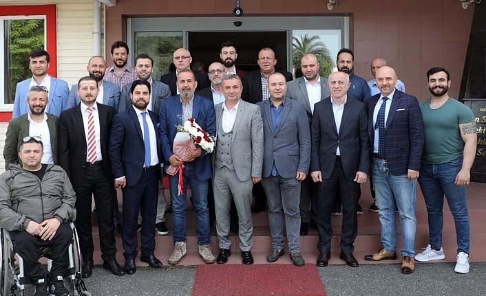 Yabancılar Pazarı Esnafı Samsunspor'da