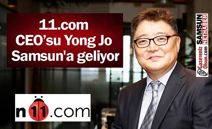 11.com CEO'su Yong Jo Samsun'a geliyor
