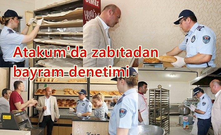 Atakum'da zabıtadan bayram denetimi