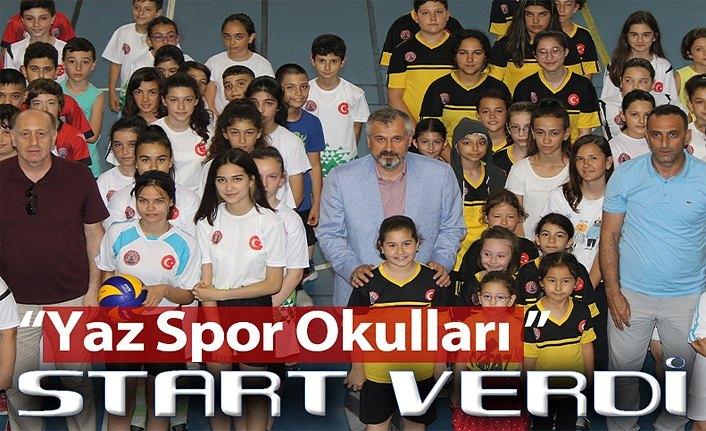 Bafra Belediyesi yaz spor okullarına coşkulu açılış