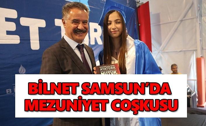 Bilnet Samsun'da mezuniyet coşkusu