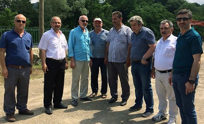 CHP Samsun Terme Afet Bölgesi'nde incelemelerde bulundu