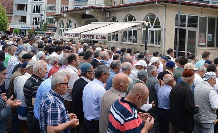 Havza'da Mursi için gıyabi cenaze namazı