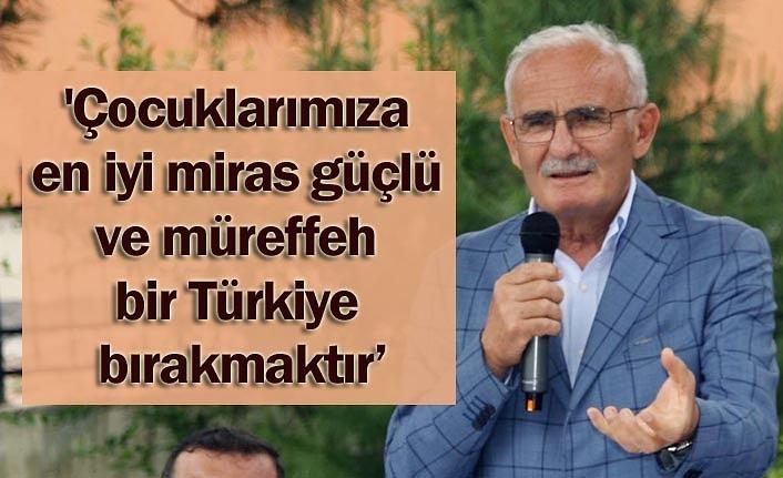 Milletvekili Yılmaz: Başka Türkiye yok