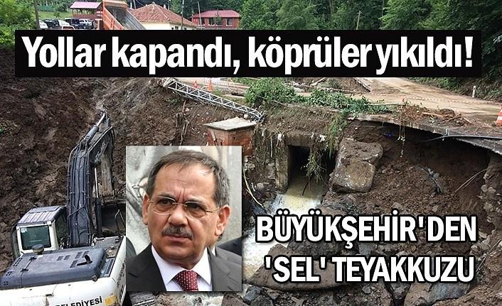 Mustafa Demir: Tüm ekipler sel ve heyelan olan bölgelerde çalışıyor