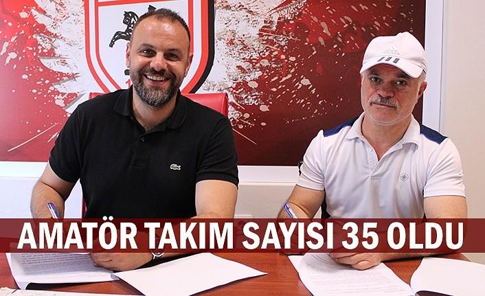 Samsun'da amatör takım sayısı 35 oldu