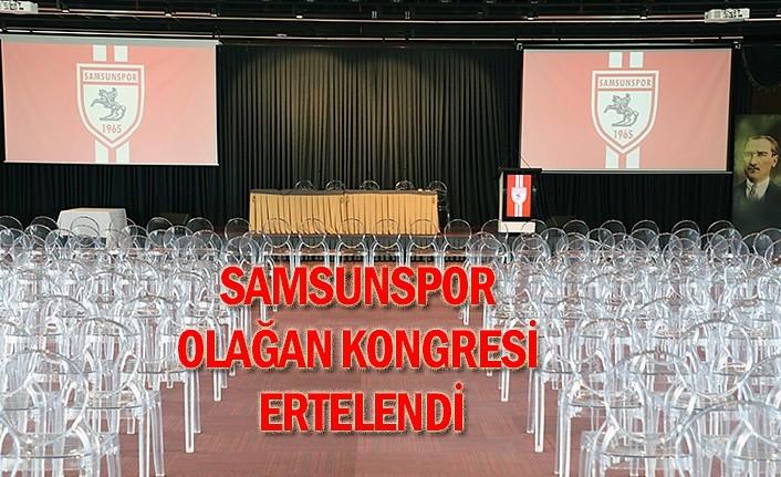 Samsunspor'da son dakika gelişmesi