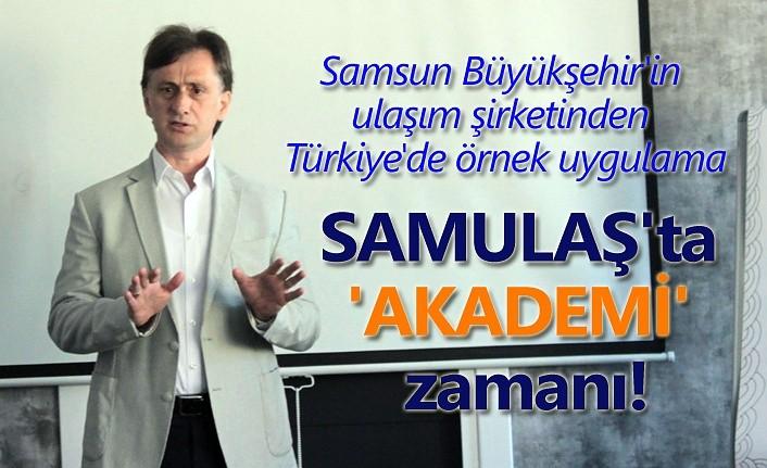 SAMULAŞ'tan Türkiye'de örnek uygulama