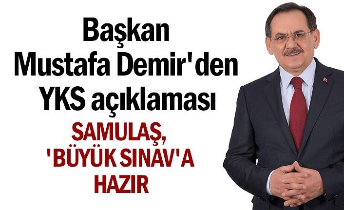 YKS için Samsun'da otobüs ring sefer sayısı artırıldı
