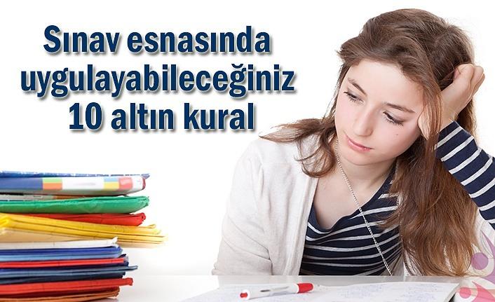 Yükseköğretim Kurumları Sınavı için 10 altın kural!