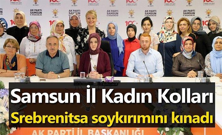AK Parti Samsun Srebrenitsa soykırımını kınadı