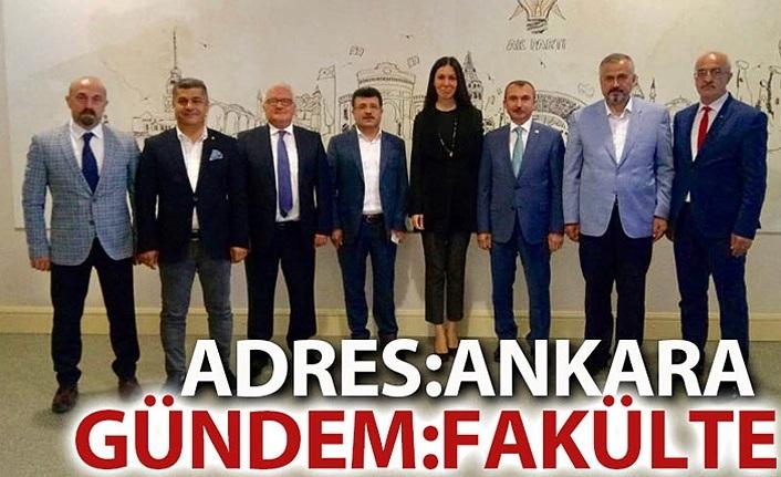 Ankara'da gündem Eczacılık Fakültesi