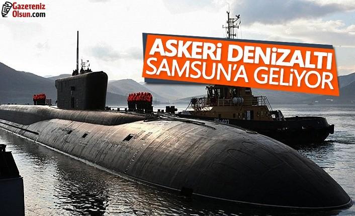 Askeri Denizaltı Samsun'a Geliyor