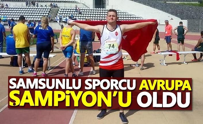 Avrupa şampiyonu Samsun'dan