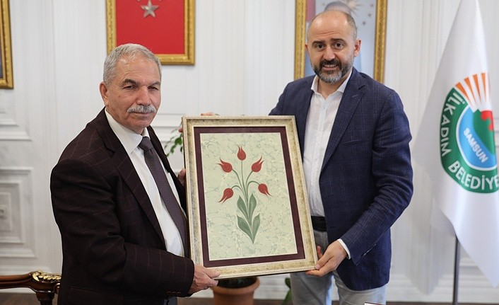 Aydınlar Ocağı'ndan Başkan Demirtaş'a ziyaret