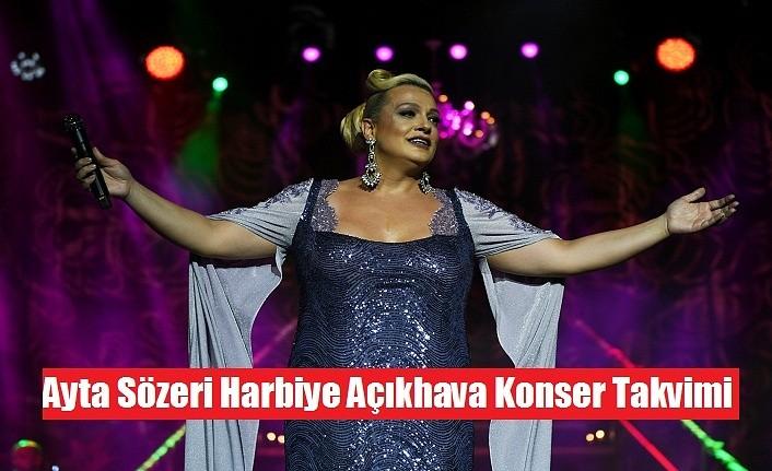 Ayta Sözeri Harbiye Açıkhava Konser Takvimi