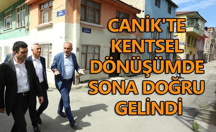 Bakanlık Canik'te kentsel dönüşümü onayladı!