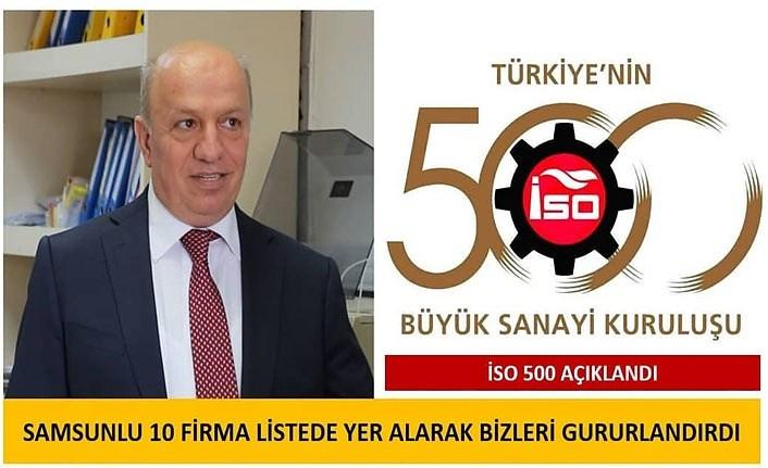 Başkan Çakır ikinci 500'e giren Samsunlu firmaları kutladı