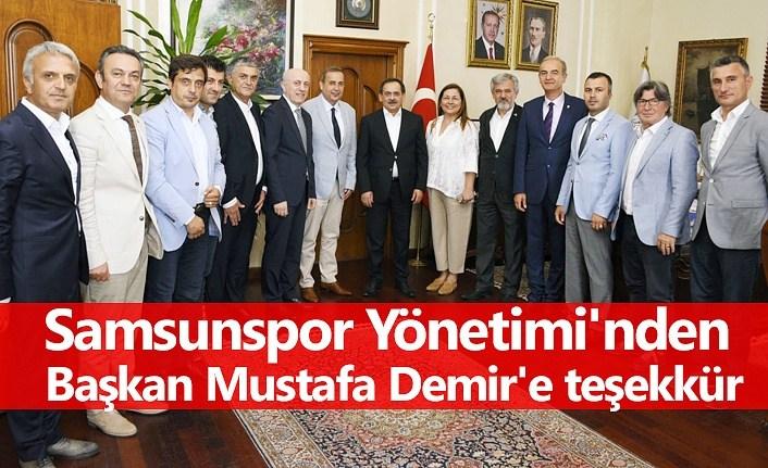 Başkan Demir: Samsunspor markamızdır, Sevdamızdır