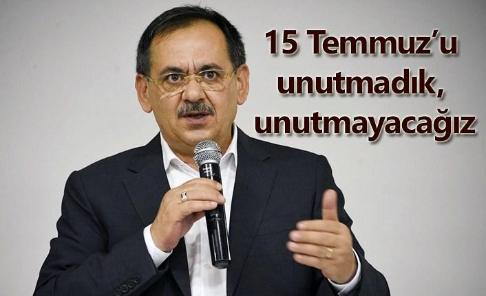 Başkan Mustafa Demir'den 15 Temmuz Mesajı