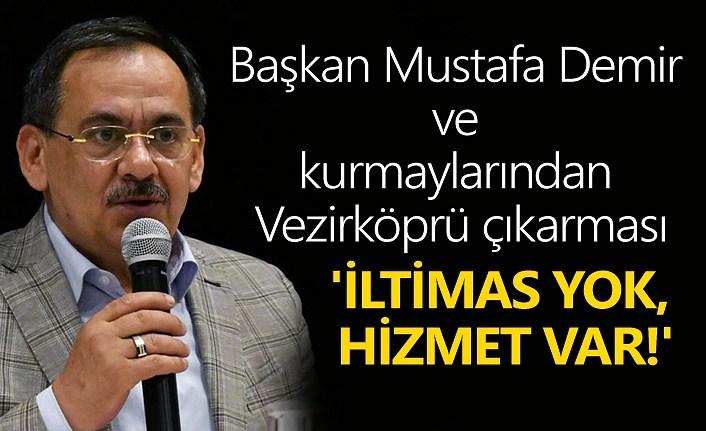 Başkan Mustafa Demir hedefini açıkladı!
