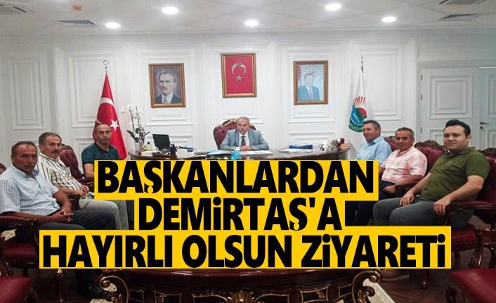 Başkanlardan Demirtaş'a Hayırlı Olsun Ziyareti