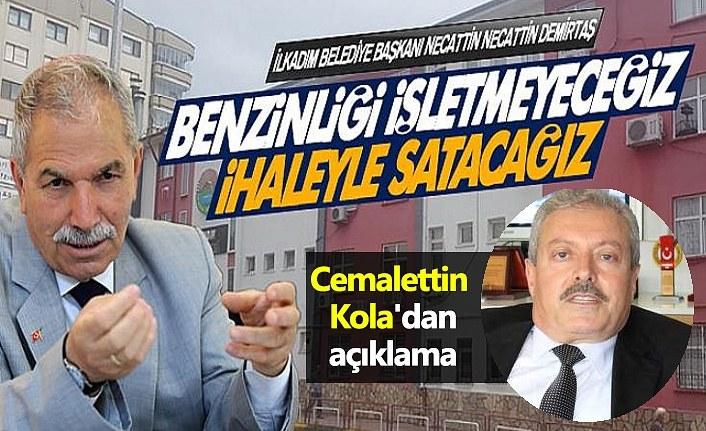 Cemalettin Kola'dan akaryakıt istasyonu açıklaması!