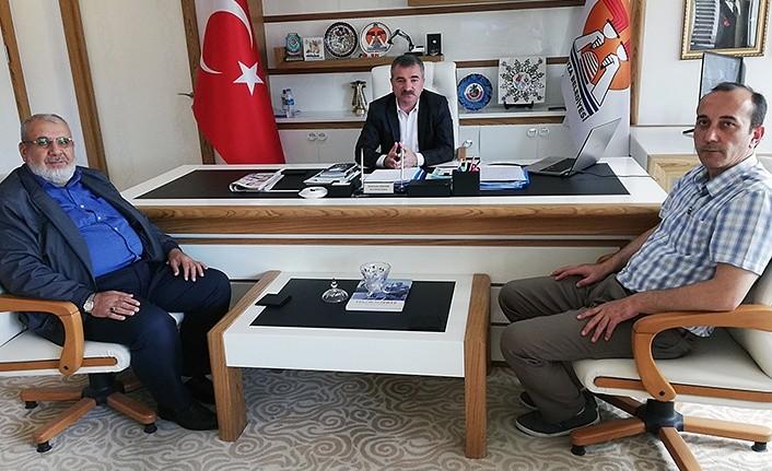 İlçe Müftüsü'nden Başkan Özdemir'e Ziyaret