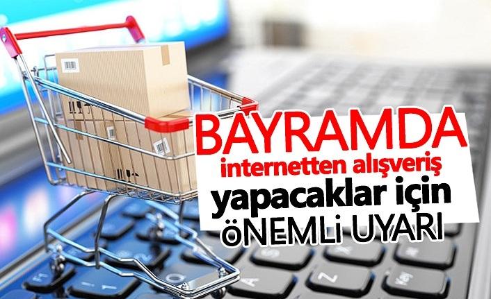 Palandöken; Bayramda İnternet Alışverişlerine Dikkat