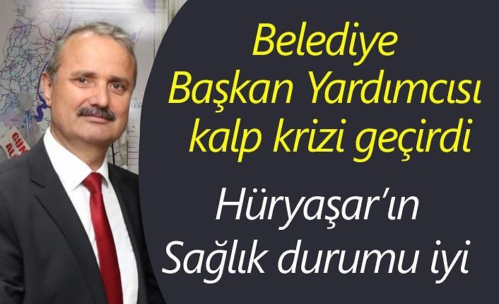 Samsun'da Belediye Başkan Yardımcısı kalp krizi geçirdi
