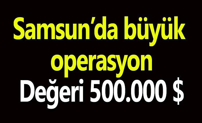 Samsun'da kaçak parfüm operasyonu!